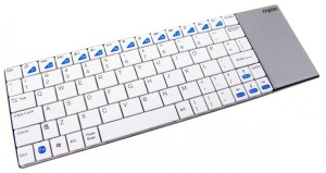 Touchpad keyboard